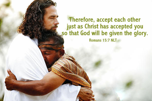 Romans 15_7 Accept One Another