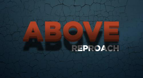 Above Reproach