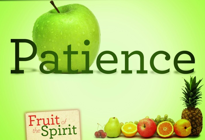 Fruit Of The Spirit - Patience 01