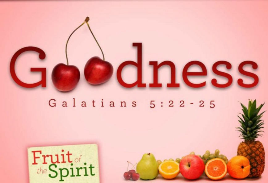 The fruit of goodness it 39 s all about yeshua for Fruit of the spirit goodness craft
