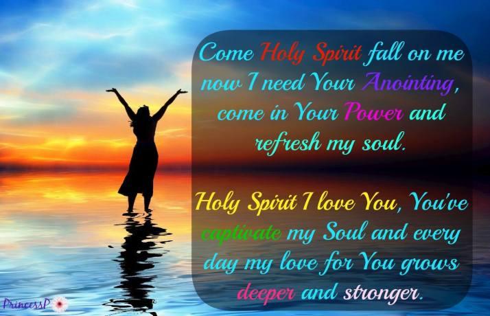 Holy Spirit I Love You