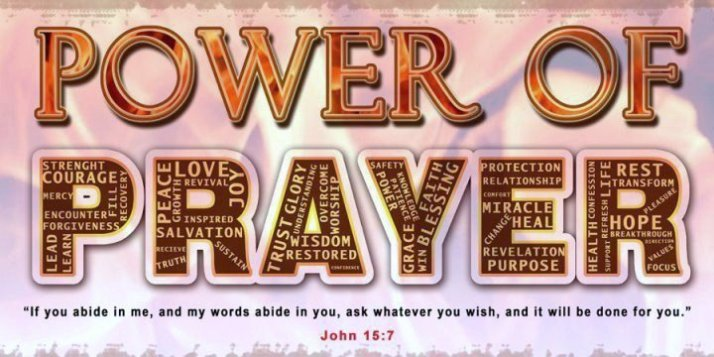 Power of Prayer - John 15_7